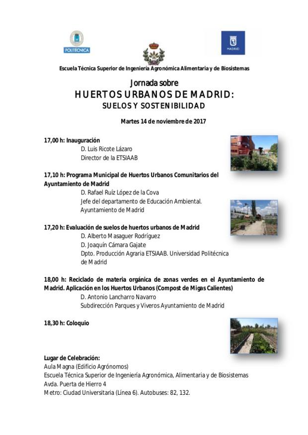 Jornada Huertos
